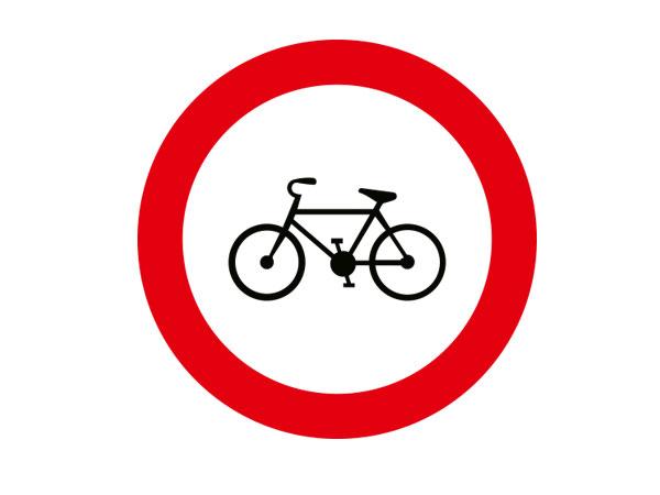 Bisiklet Giremez Levhasi Tt 8