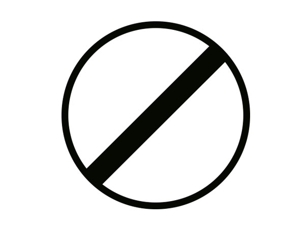Bisiklet Giremez Levhası Tt 8 Trafiknettr