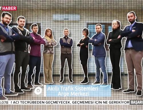 Akıllı Trafik Sistemleri TRT Haber'de Tanıtıldı