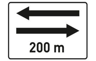 İki Yönlü Trafik Levhası PL-15