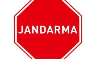 Jandarma Levhası TT-2