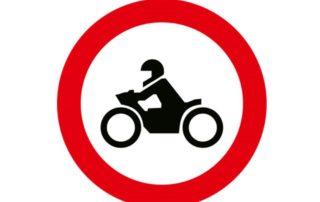 Motosiklet Giremez Levhası TT-7